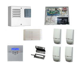 Kit alarme anti-intrusion - filaire - Eurotec