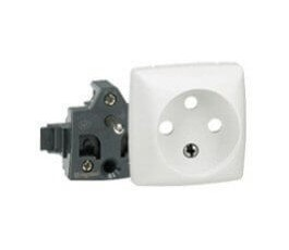 Prise de courant Oteo 2P+T 16A composable - Blanc - Legrand
