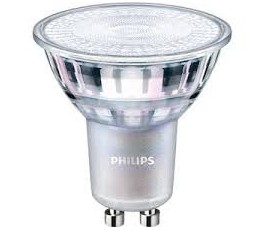 Ampoule Master LEDspot Value - Dimmable -  PAR16 - 4,9W - 355lm - 2700k° blanc chaud - 36° - GU10 - 230V - Philips