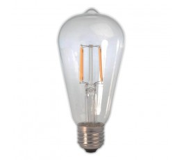 Ampoule Led Filament - dimmable -  ST64 - 7W - 850lm - 2200K° blanc chaud - E27 - 230V - Eurolamp
