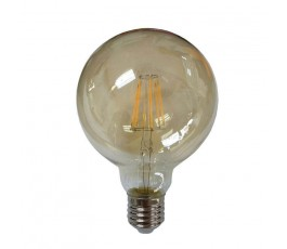 Ampoule Led Globe Filament - non-dimmable - G95 - 10W - 1050lm - 2400K° blanc chaud - E27 - 230V - Eurolamp
