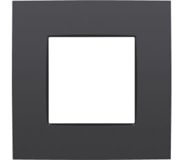 Plaque simple - Intense Anthracite - Niko