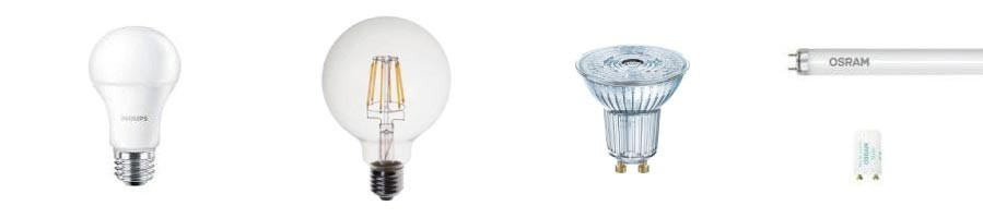 Vente en ligne d'ampoules led, rétro, fluorescente, ... - MS Electric