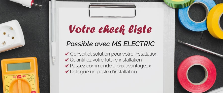 Solutions avec MS Electric - Vente et/ou installation