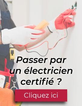 Électricien certifié